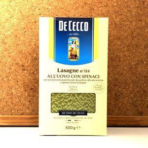 De Cecco - Lasagne Verdi