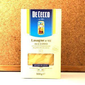 De Cecco - Lasagne all'Uovo