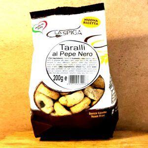 Taralli Spiga - Al Pepe Nero